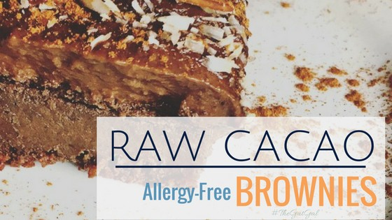Raw Cacao Sweet Potato Brownies (ALLERGY-FREE) with ...