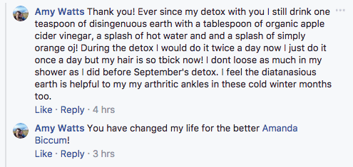 Detox Not Diet testimontial